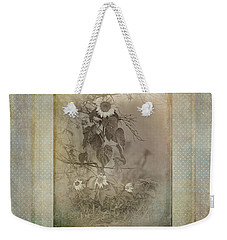 Mother And Child Reunion Vintage Frame Weekender Tote Bag by Susan Capuano