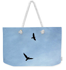 Mother And Father Raven Weekender Tote Bag