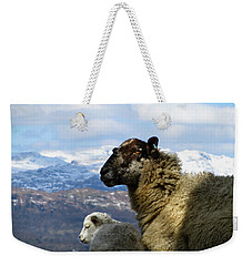 Mother And Lamb Weekender Tote Bag