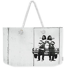 Double Trouble Weekender Tote Bag by Joe Jake Pratt