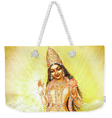 Mother Goddess Lalitha Weekender Tote Bag
