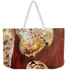 Mother Knows Best Weekender Tote Bag