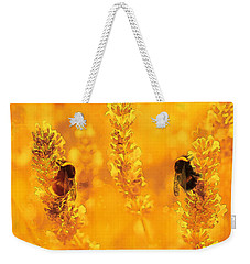 Weekender Tote Bag featuring the digital art Mother Nature At Work    by Fine Art By Andrew David