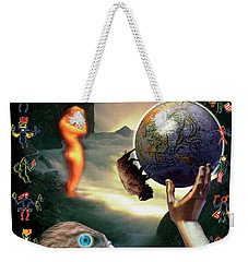 Weekender Tote Bag featuring the photograph Mother Nature by Craig J Satterlee