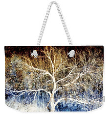 Mother Natures Dance Weekender Tote Bag by Janine Riley