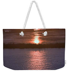 Weekender Tote Bag featuring the photograph Mother Natures Mood Swings by John Glass