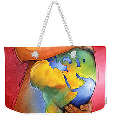 Mother Of All Colors Weekender Tote Bag by Christopher Marion Thomas
