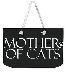 Mother Of Cats- By Linda Woods Weekender Tote Bag