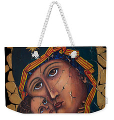 Mother Of God Weekender Tote Bag