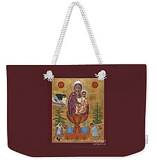Mother Of God Life Giving Spring 179 Weekender Tote Bag