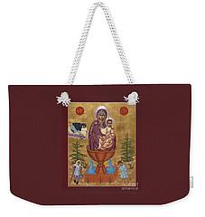 Mother Of God Life Giving Spring Weekender Tote Bag