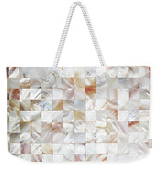 Mother Of Pearl Weekender Tote Bag by Uma Gokhale