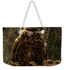 Mother Owl Posing Weekender Tote Bag