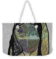 Mother Teresa  Never Forget Weekender Tote Bag by Ann Calvo