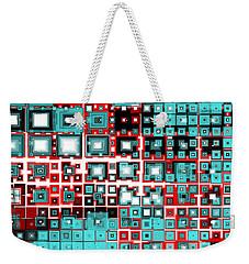 Motherboard 2 Weekender Tote Bag by Shawna Rowe
