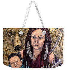 Motherhood-guardian Spirits Weekender Tote Bag