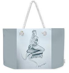 Motherhood Mermaid Weekender Tote Bag