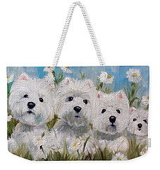 Mother's And Daughters Weekender Tote Bag
