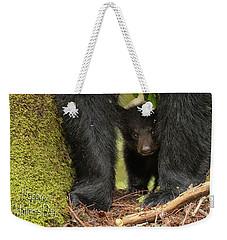 Mothers Day Bear Card Weekender Tote Bag