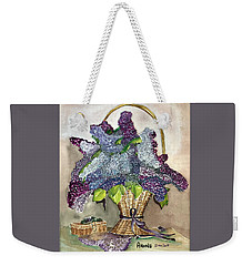 Mothers Day Lilacs Weekender Tote Bag