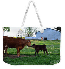 Weekender Tote Bag featuring the photograph Mothers Love by Mark McReynolds