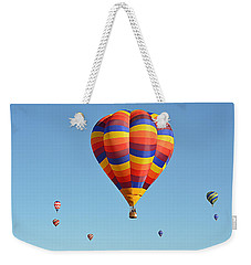 Weekender Tote Bag featuring the photograph Mothership by AJ Schibig