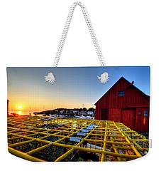 Motif 1 Lobster Trap Sunrise Weekender Tote Bag
