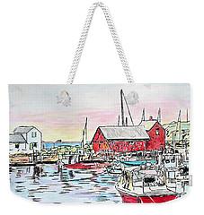 Motif #1 Rockport, Massachusetts Weekender Tote Bag