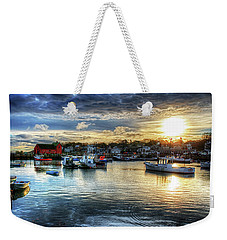 Motif #1 Sunrise Rockport Ma Weekender Tote Bag