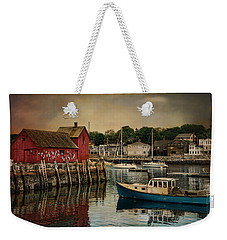 Motif Number One Weekender Tote Bag