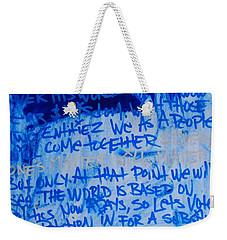 Motivation Weekender Tote Bag