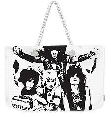 Motley Crue No.01 Weekender Tote Bag