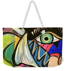 Motley Eye 3 Weekender Tote Bag