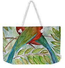 Motmots Weekender Tote Bag by Patricia Beebe