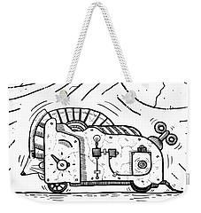 Moto Mouse Weekender Tote Bag