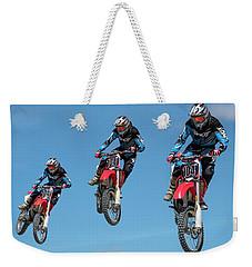 Motocross Riders Weekender Tote Bag