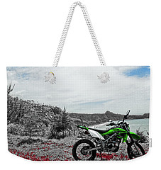 Motocross Weekender Tote Bag by Wahyu Nugroho