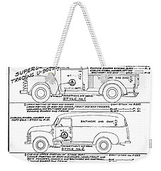 Motor Vehicles Weekender Tote Bag