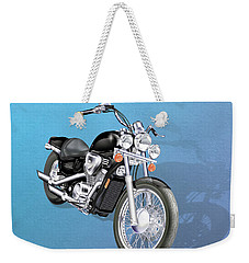 Motorcycle Weekender Tote Bag