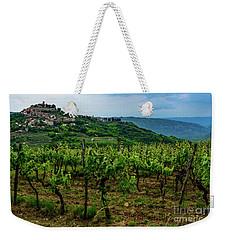 Motovun And Vineyards - Istrian Hill Town, Croatia Weekender Tote Bag