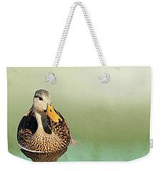 Mottled Duck Reflection Weekender Tote Bag