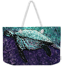Mottled Sea Turtle  Weekender Tote Bag