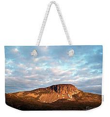Mottled Sky Of Late Spring Weekender Tote Bag by Barbara Griffin
