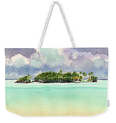 Motu Rapota, Aitutaki, Cook Islands, South Pacific Weekender Tote Bag