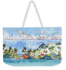 Motu Toopua Bora Bora Weekender Tote Bag by Pat Katz