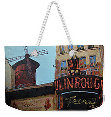 Moulin Rouge Weekender Tote Bag
