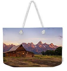 Moulton Barn Sunrise Weekender Tote Bag