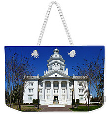 Moultrie Courthouse Weekender Tote Bag by Carla Parris
