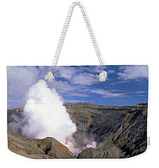 Mount Aso Weekender Tote Bag by Travel Pics
