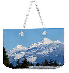 Mount Baker From Farm-to-market Road Weekender Tote Bag
